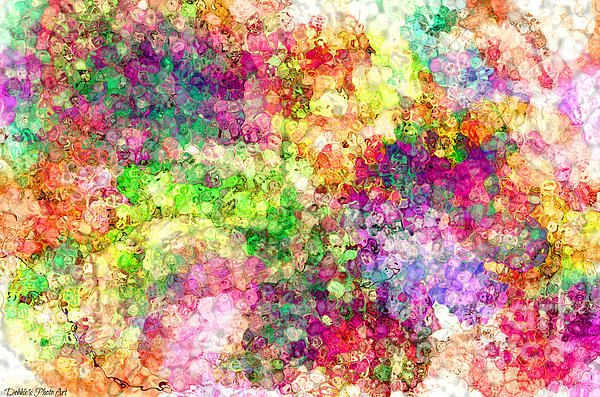 Multi Colored Digital Abstract
