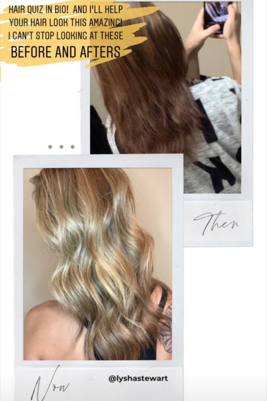 Monat Hair Before And After in 2020 Hair quiz, Hair