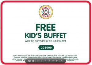 graphic about Cici's Pizza Printable Coupons referred to as CiCis Pizza Buffet Youngsters Consume Free of charge Coupon Lady Scouts