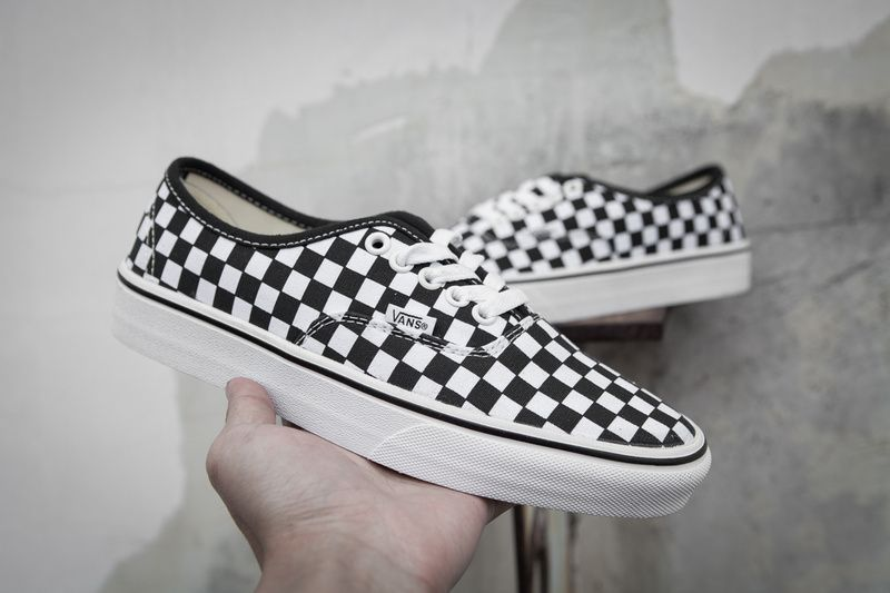 vans black and white cheap