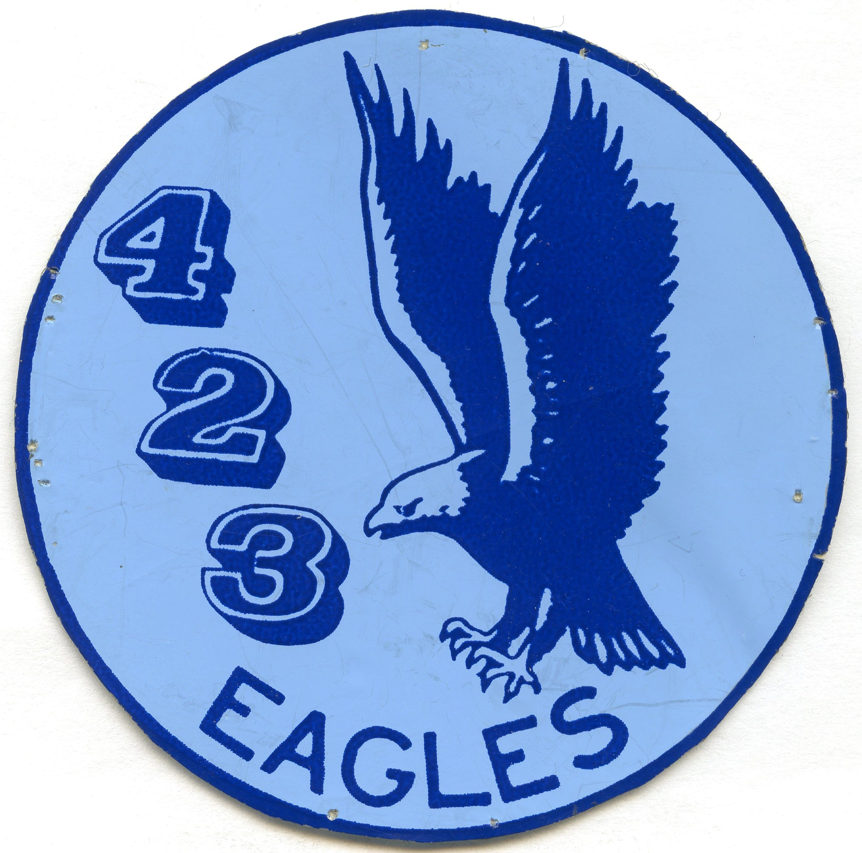 RCAF 423 Squadron Sticker Stickers, Patches, Military