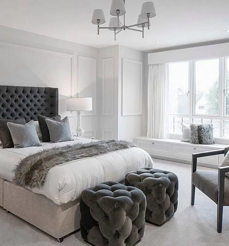 Best 17 Modern Bedroom Design Ideas For A Dreamy Master Suite 400 x 300