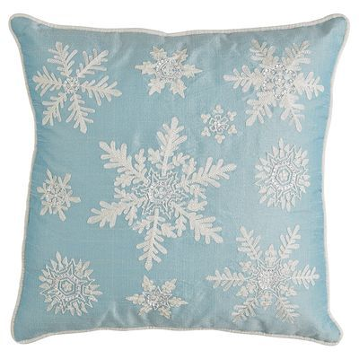 Icy Snowflake Pillow From Pier 1 Imports Do You Include
