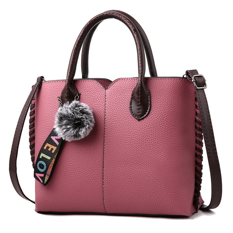 c8015f3a07 MONNET CAUTHY 2018 Bags Female Elegant Office Ladies Fashion Handbags Solid  Color Wine Red Green Black Grey Girl Crossbody Totes from Reliable Top-Handle  ...