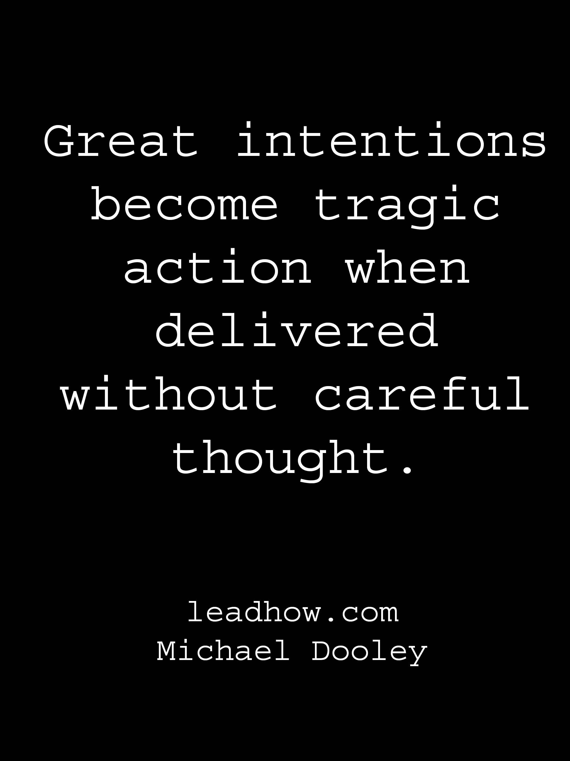 intention without action quote Google Search
