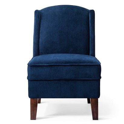 Blue Velvet Chair At Target Only 150 Chair Wingback Chair