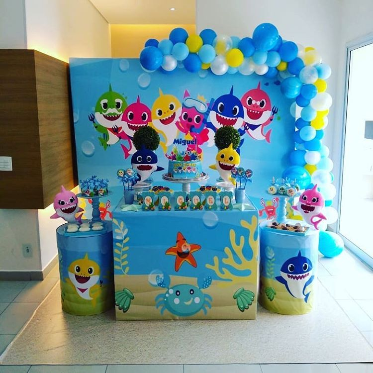 Locacao E Decoracao De Festa No Instagram Baby Shark En
