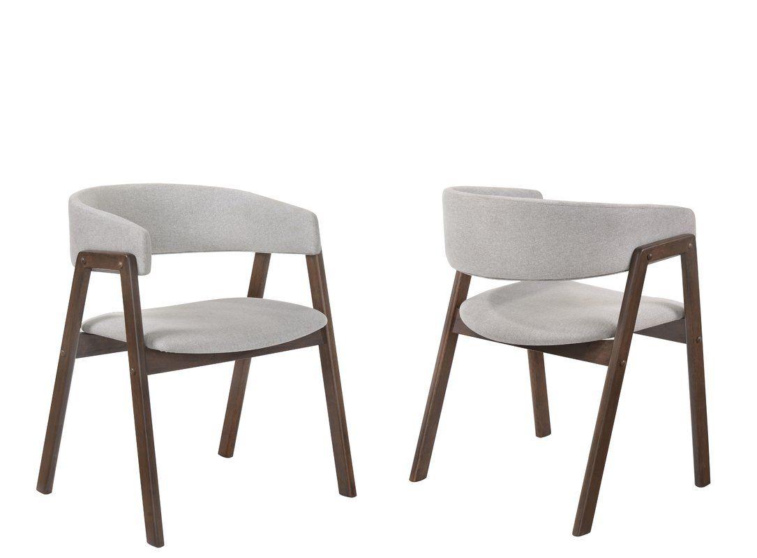 Paityn Wraparound Back Upholstered Dining Chair Side Chairs Dining Metal Dining Chairs Dining Chair Upholstery