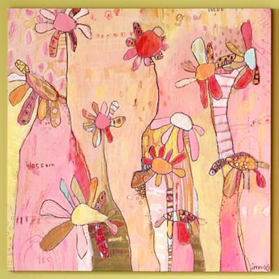 from Land of Nod--I love the funky flowers!