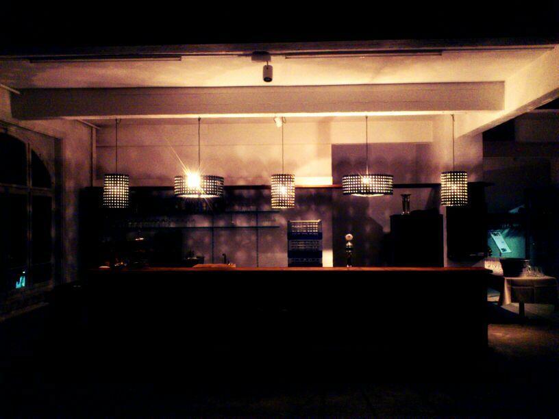 Bar Beleuchtung Durch 2mol Im Restaurant Lagerhaus In St. Gallen