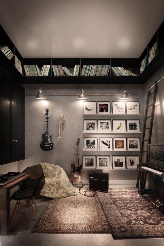 Home Office Studio Music Theme Music Studio Room Studio Room