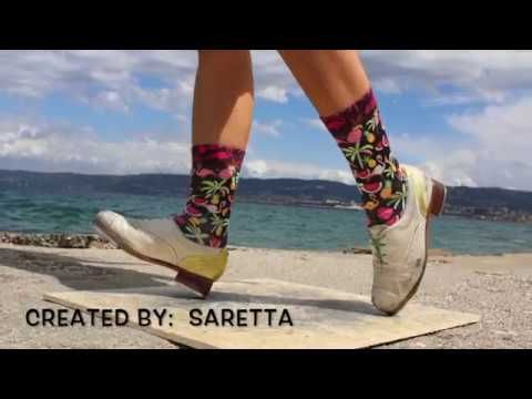 86f2403c68c97 Tap   Socks - Saretta - YouTube Dance Shoes