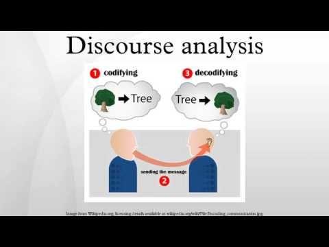 Discourse Analysis Genre Modality Register Participants