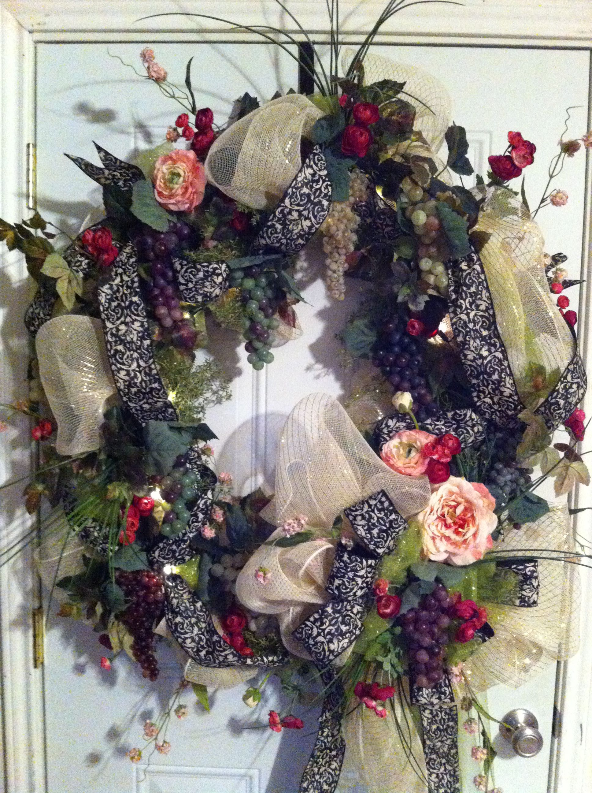 Delicieux Extra Large Door Wreath! Created By Perfect Impressions: Creations By Wendy!
