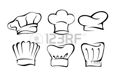 silhouette cappello cuoco - Cerca con Google  25f60d095da4