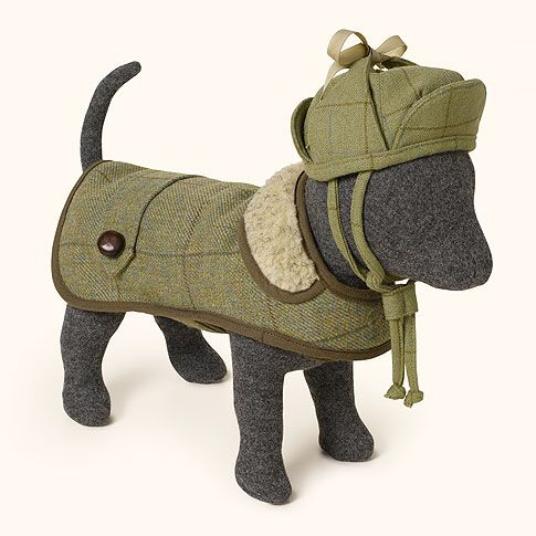 Image detail for -Love My Dog Thornby Tweed Dog Coat : Hair of the ...