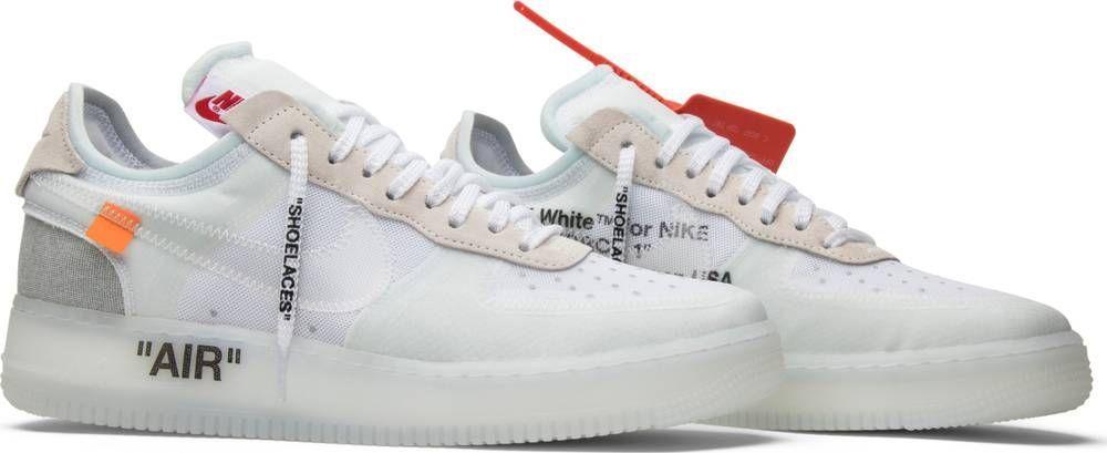 4cb05fae50f OFF-WHITE x Air Force 1 - Nike - AO4606 100