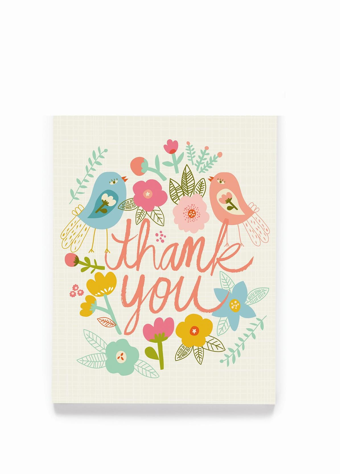 Download BOXED NOTES :: thank you :: Lovebirds BOXED NOTES - Ecojot ...