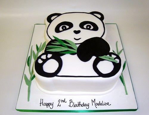 Panda Cake Cookies Pinterest Panda Birthday Cake