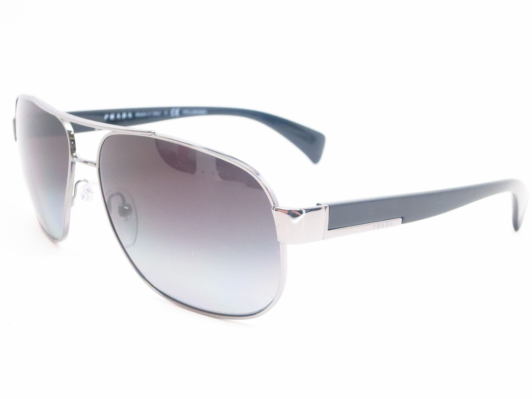5a10aa325a ... inexpensive prada spr 52p 5av 5w1 gunmetal polarized sunglasses a4fb9  2dc31