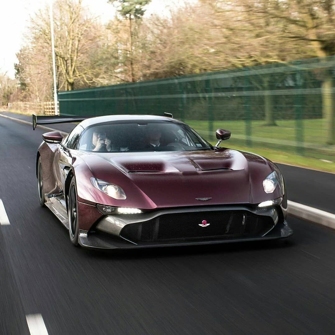 The Most Powerful Road Legal Aston Martin. Swipe To The
