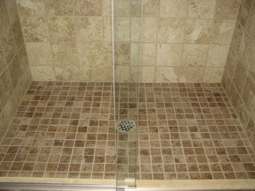 Tiled Shower Floors Pictures | Tile Shower Floor Marlton,nj Picture Of Tiled