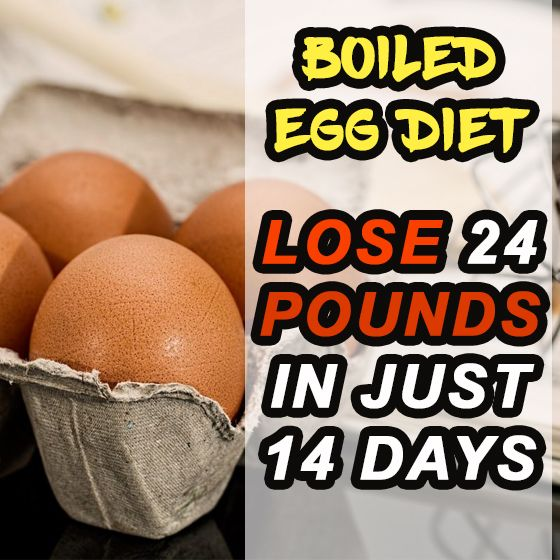 Boiled Egg Diet - Lose 24 Pounds In Just 14 Days | Egg ...