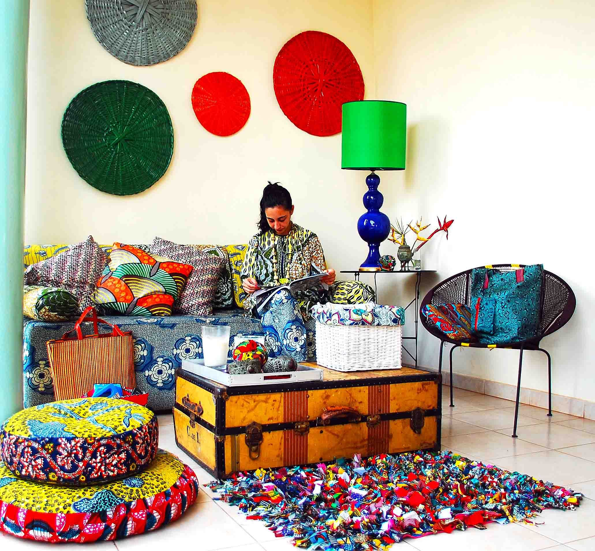 "African Home Design African Home Decor Ideas With African: I Would Call This The ""happy Corner"""