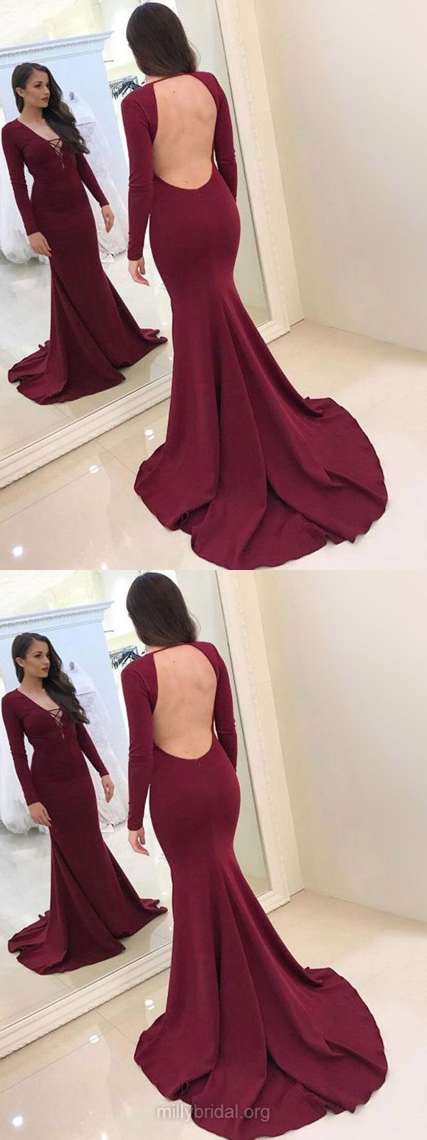 Burgundy Prom Dresses Long Prom Dresses Prom Dresses For