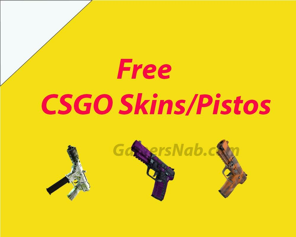 CSGO #GamersNab #FreeSkins   Free CSGO Guns/Pistols   Free