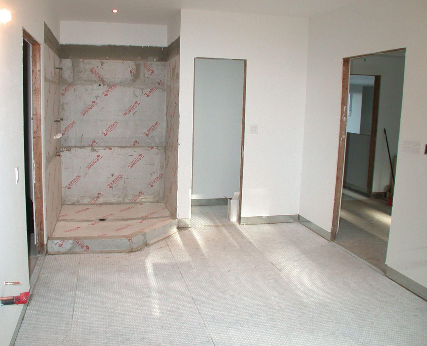 Superseal S Tile Subfloor And Shower N Floor Subfloor