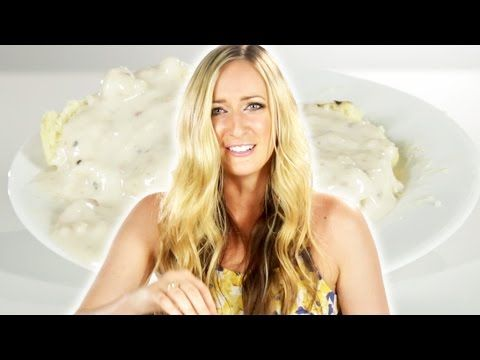 British People Try Biscuits And Gravy Youtube