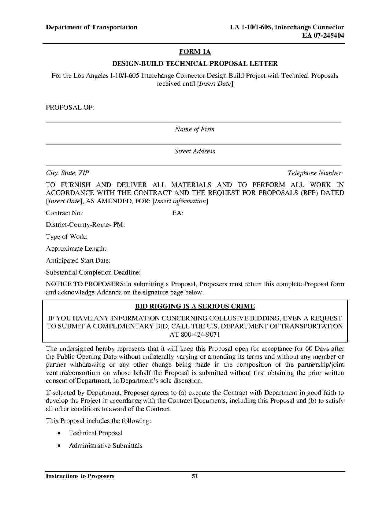 Joint Venture Agreement Joint venture, Proposal letter