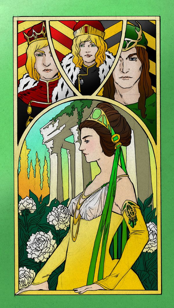 Margaery Tyrell by ave-avery, via deviantart