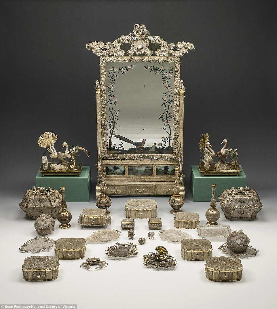 Treasures used by Russia's Catherine the Great arrive in