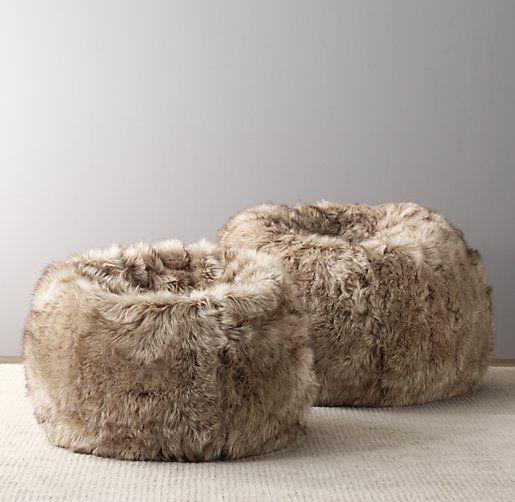 Luxe Faux Fur Bean Bag Faux Fur Bean Bag Fur Bean Bag Bean Bag Sofa