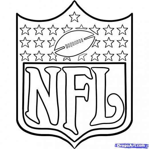 Football Coloring Pages & Sheets for Kids | Fútbol americano, La ...