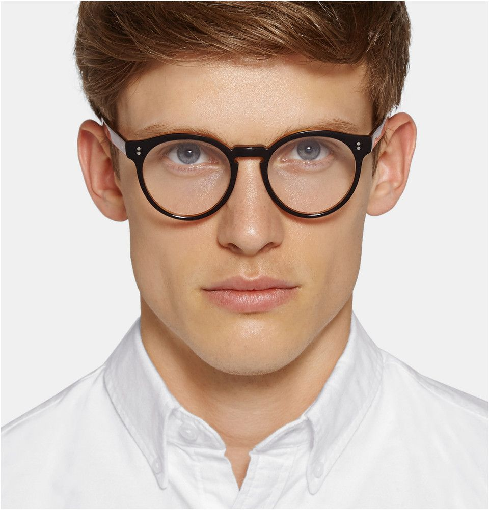 0fd1328a3b0 Cutler and Gross - Round-Frame Acetate Optical Glasses