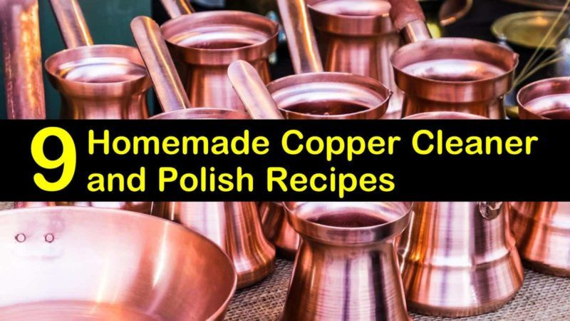 9 simple diy copper cleaner polish recipes in 2020