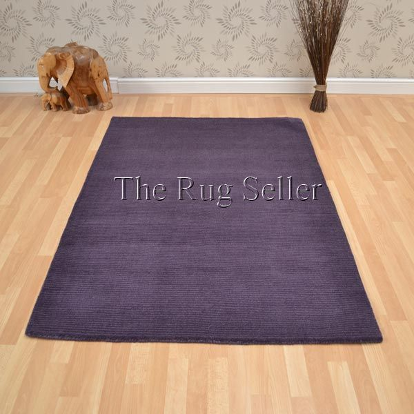 Brighton Plain Purple Rugs Online From The Rug Er Uk