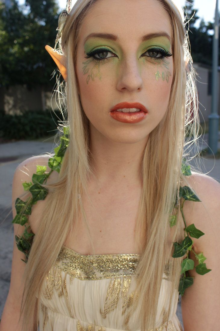 Elf Makeup Elf makeup, Makeup, Wood elf