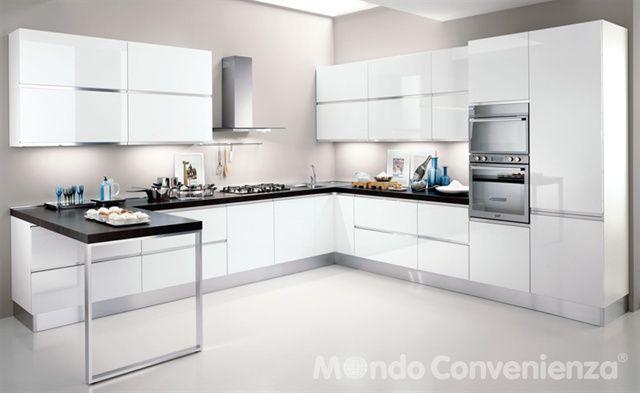 Veronica Cucine Moderno Mondo Convenienza Kitchen Living Kitchen Decor Kitchen Cabinets