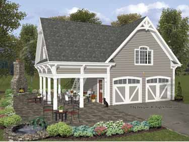 Traditional Style House Plan 0 Beds