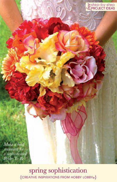 Spring sophistication hobby lobby diy silk flower wedding bouquet spring sophistication hobby lobby diy silk flower wedding bouquet mightylinksfo