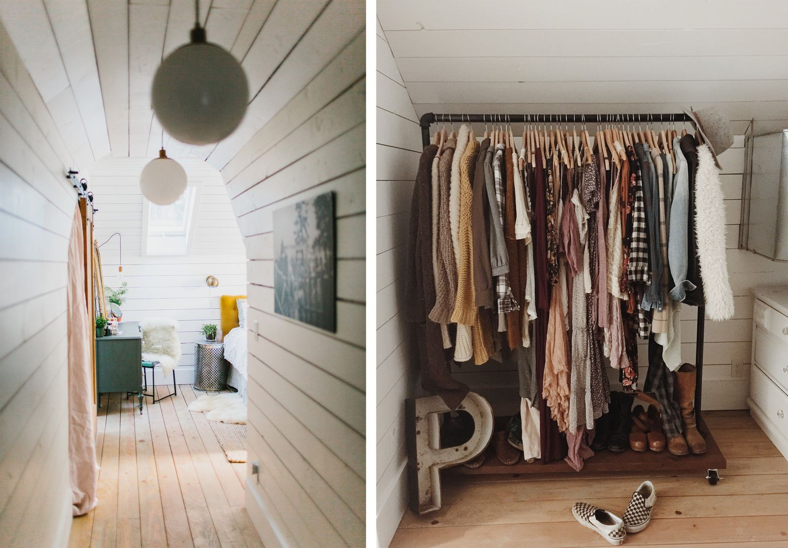 How This Couple Turned Their Attic Into The Most Beautiful Master Suitecountryliving