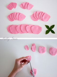 How to Make a Felt Peony #feltflowertemplate Step 1 - How to make a felt peony - felt flower tutorial by Melly Sews #feltflowertemplate How to Make a Felt Peony #feltflowertemplate Step 1 - How to make a felt peony - felt flower tutorial by Melly Sews #feltflowertemplate