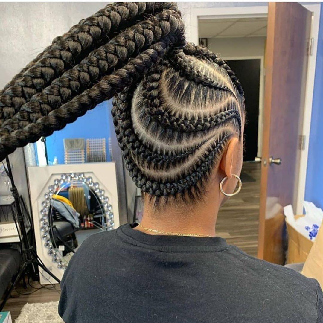 World Of Braiding On Instagram Stitch Braids Jumbo Pony Tail
