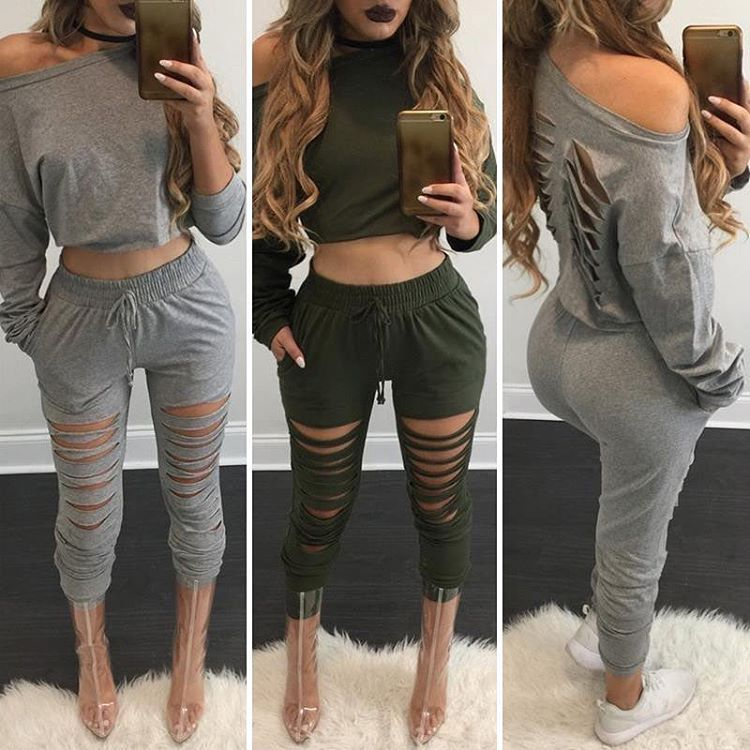 """ffe94de3bfc Chic Me ( chicmeofficial) on Instagram  """"Casual sets search FZMC5276 on  chicme.com"""