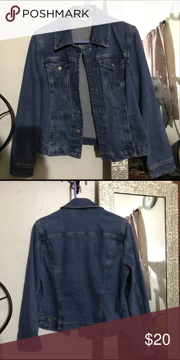 ce6711907ad Women's Blue Denim Jacket Worn only once when trying it on. Dress Barn  Jackets & Coats Jean Jackets