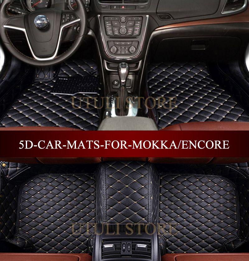 Car Floor Mats For Vauxhall Opel Mokka X Buick Encore Chevrolet Trax 2012 2017 Custom Fit All Weather Carpet Floor Foot Mats Fit Car